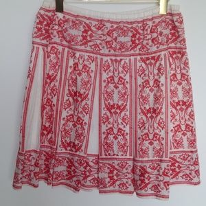 Sophie Max pleated skirt